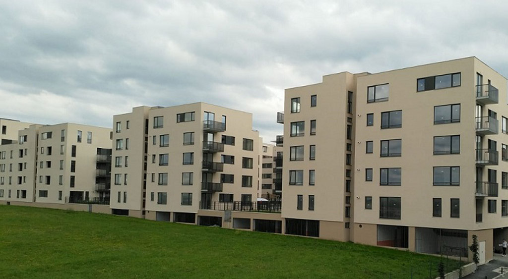 PVC windows and balcony doors for apartments